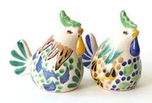 Salt & Pepper Shakers / Salt & pepper sets are fun, collectible, and always useful. / by Emilia Ceramics