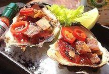 seafood / by Sylvia Hunts