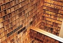Paper- artilcles,aurthors books, libraries-places to read, magazine, newspaper / Places to read in, books to read. / by Lady Star