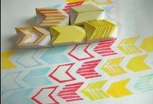 DIY | stamp, emboss, print / by beartblog