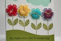 «Button Cards / by Kristi Rears DeFalco