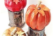 Pumpkin DIYs / There are lots of pumpkin decorating tutorials on Pinterest. These pumpkin DIYs collected here are the best of the best. Why? Because they are from some of the best craft bloggers out there, and - most importantly - each DIY has steps to easily recreate what they did! Enjoy! / by Pet Scribbles