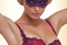 Lingerie: Bras & Panties: Color, Dots, Stripes & Patterns / s866 12-26 c1112 a1 1143 x1147 e1319 f1442 g1675 h1692 / by Kythoni