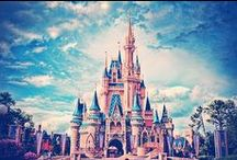 Disney  / where dreams come true / by Rania Hassan
