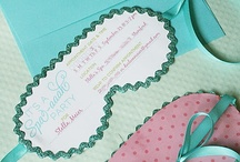 Party Invitations / Your party invite sets the mood for your party! Look for fun designs here. / by Cristy Mishkula @ Pretty My Party