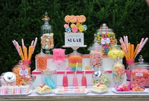 Dessert Table Inspiration / Find fun ideas and designs for dessert tables and bar ideas for your parties and weddings. / by Cristy Mishkula @ Pretty My Party