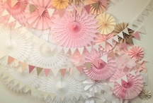 Party Banners & Backdrops / This board is full of beautiful party banners and backdrops for your parties or weddings! / by Cristy Mishkula @ Pretty My Party