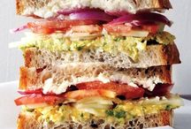Sandwiches / by Renee Hahnel
