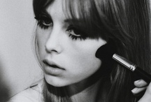 Lula Beauty Shoot 2012 & Inspiration / These pictures of Pattie Boyd were the inspiration for my Lula magazine beauty shoot with Edie Campbell... / by Lisa Eldridge