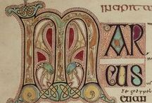~ Illuminated Letters ~ / by Mr. Orbis