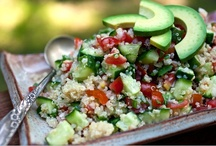 Scrumptious Salads / These are not your average salads. These will keep you full and satisfied.  / by Full Plate Living
