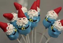 gnomes / by Margo Mills Wayman Fallis