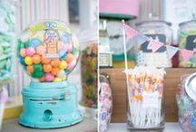 Fiesta dulces / Candy party / Ideas e inspiración para una fiesta dulces o una fiesta golosinas / Ideas and inspiration for a candy party / by FIESTAFACIL