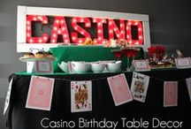 Fiesta casino / Casino party / Ideas para una fiesta casino / Ideas for a casino party / by FIESTAFACIL