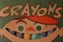 crayons / by Margo Mills Wayman Fallis