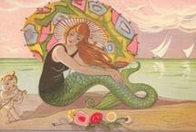 mermaids / by Margo Mills Wayman Fallis