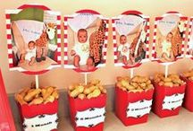Fiesta primer cumpleaños / 1st birthday party / Ideas para que tu fiesta primer cumpleaños sea super-festivo y original! / Ideas for a super-original and festive first birthday party! / by FIESTAFACIL