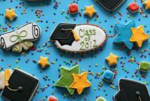 Fiesta graduación / Graduation party / Ideas para tu fiesta graduación, para que el graduado tenga la celebración original que se merece! / Ideas for your graduation party, so that the graduate can have the original celebration that he or she deserves! / by FIESTAFACIL