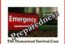 Emergency Preparedness / Emergency Preparedness, natural disasters, SHTF, economic collapse, floods, earthquake, hurricanes, pandemic ☠ / by The Homestead Survival