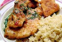 Recipes - Lunch & Dinner / Savory dishes & dressings - soup, salad, lunch & dinner / by Karen Angelo