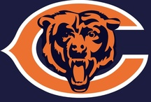 chicago bears  / by Debbie Clark