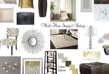 My Designs & e-Decorating Mood boards for Clients  / Interior Decorating for clients. / by The Classy Woman