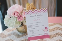 Baby Shower Ideas / Pink, White & Gold. Elegant & Romantic for a baby girl. / by The Classy Woman