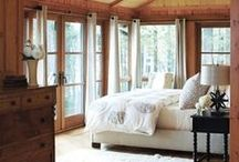 Cabin - Master Bedroom / by Angel Wilde