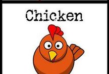 Chicken Recipes / paleo, gluten-free, and grain-free recipes containing chicken / by Cavegirl Cuisine