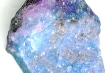 """Rocks - Minerals - Fossils / """"He who moves a mountain begins by carrying away small stones first""""  / by Debbie Coleman"""