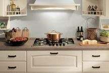 Madeleine - Kitchens / Designed by Vuesse. Elegant, solid and reassuring like the kitchens of bygone days! / by Scavolini