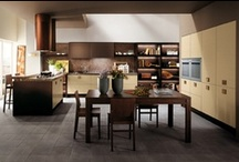 Tribe - Kitchens / Design by Marcello Cutino | Contemporary architecture and textured sensations / by Scavolini