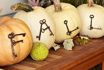 Fall treats and decor / by Kristine Freese