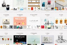 cool Pinterest Pages / A collection of pinterest pages showing the visual statements a whole page can make, and how different one can look from another. / by Mintz Web Design