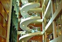 interior stair (spatial design) / by Henri Schevers