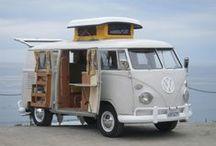transportation - Volkswagen T1 / by Henri Schevers