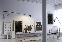 monochrome / homes in monochrome / by Hilary Robertson