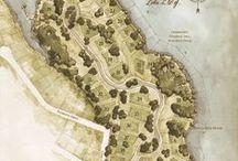 map (graphic design) / by Henri Schevers