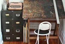 Studio Decor / Dream studio furniture and ideas / by Jessica Olah