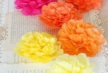 DIY FLOWERS (tutorials),flores,cómo hacerlas. / by Mary Carmen