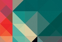 G E O M E T R I C / a collection of geometric print patterns with striking colour palettes / by Sharon Murray