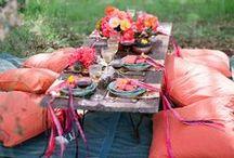 Stylish picnic wedding / Inspiration and ideas for a stylish and updated picnic wedding.  / by Jen Rodriguez