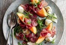 S A L A D S / a collection of quick and healthy salad recipes / by Sharon Murray