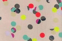 P A T T E R N / a collection of hand painted print patterns with striking colour palettes  / by Sharon Murray