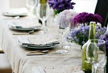 F R E N C H _ D I N N E R / a french dinner for friends / by Sharon Murray