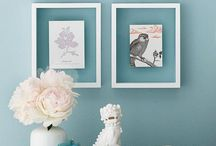 Wall space / Pictures, frames & shelves  / by Helen Kennerk