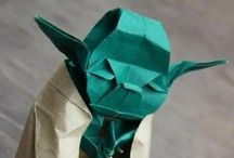 Papercraft/ Ribbon-ory/ Woodcraft / Making magic out of paper, wood & ribbons / by Byju Rajan