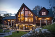 Log Homes / by Michele Streets