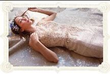 The Lovely One Collection / We worked to create a collection that we feel fits our brides in a way no other line does. It is an extension of our shop and caters to our unique, laid-back, indee clientele. The Lovely One takes an effortless approach to glamour all the while maintaining the romantic bohemian aesthetic that Lovely Bride is known and loved for. Available in Lovely NY, LA, Philly, DC and San Fran Price Range $1950-$2750 / by Lovely Bride