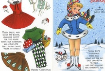 Paper Dolls / Paper, Ephemera, Vintage, Children, Glamour, Celebrities / by Francine Brooks